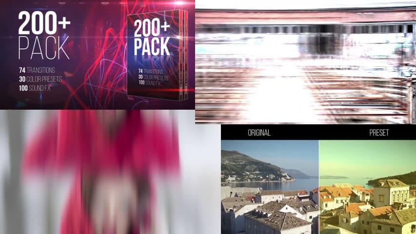 Переходы и Цветокоррекция — Пресеты для Premiere Pro