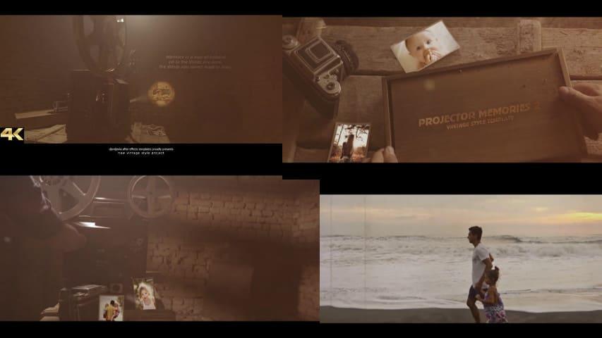 Старинные Воспоминания - Кинопроектор 2 от Videohive