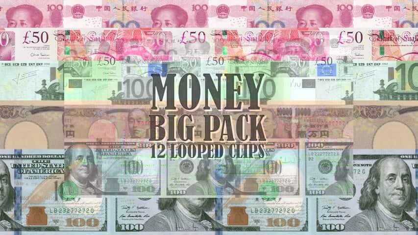 Футажи Деньги — Скачать Фоны для Видеомонтажа