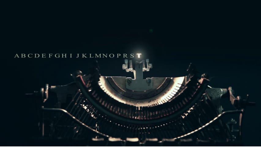 Печатная Машинка Набирает Текст — After Effects Project