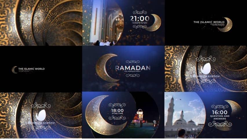 Рамадан — Проект от Видеохайв для Афтер Эффект