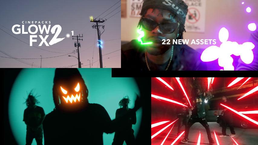 Световые Эффекты для Видео Glow FX 2.1 — Cinepacks