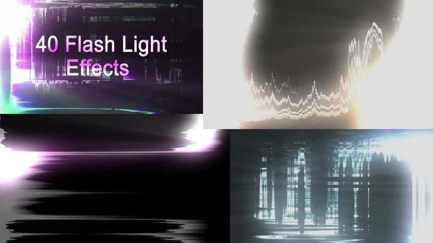 Футажи Light Flash от Videohive