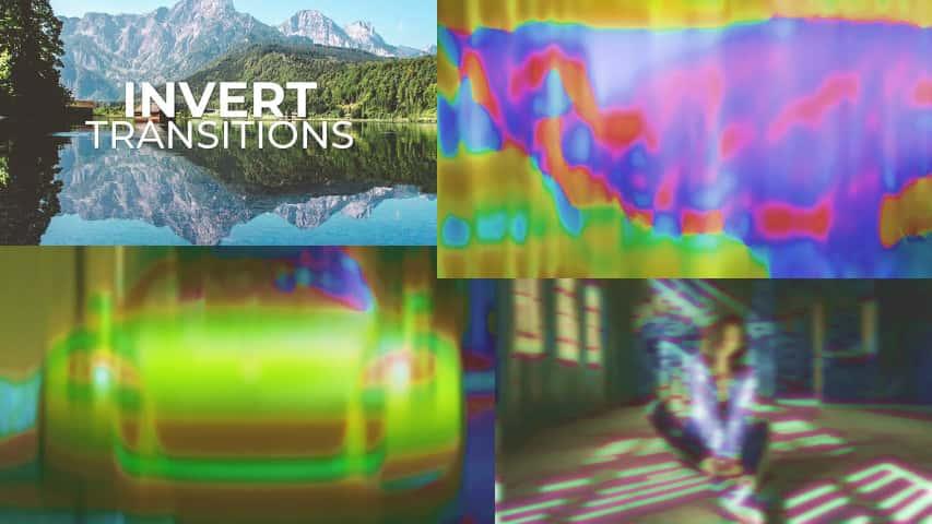 Пресеты Premiere Pro - Яркие Переходы Инверсия
