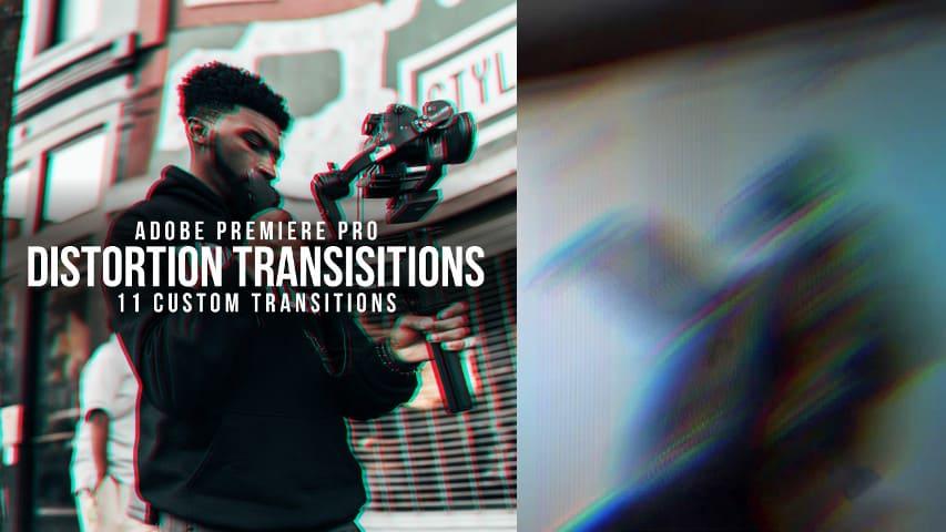 Переходы Искажения - Пакет Эффектов для Premiere Pro