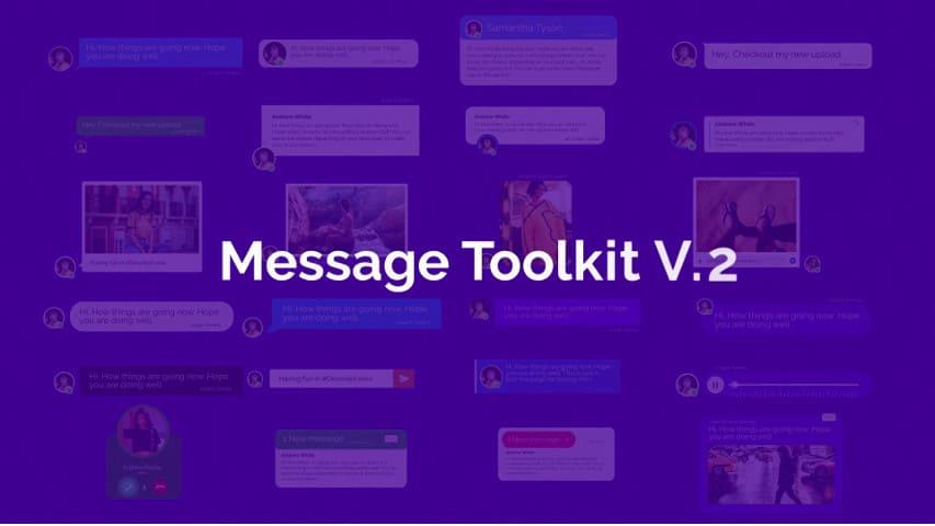 Мобильные Сообщения — After Effects Project Файлы