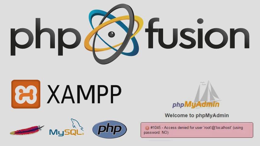 Перенос Сайта PHP-Fusion на Локальный веб-Сервер