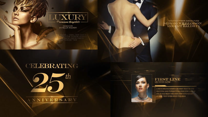 Luxury Awards Package - After Effects Project