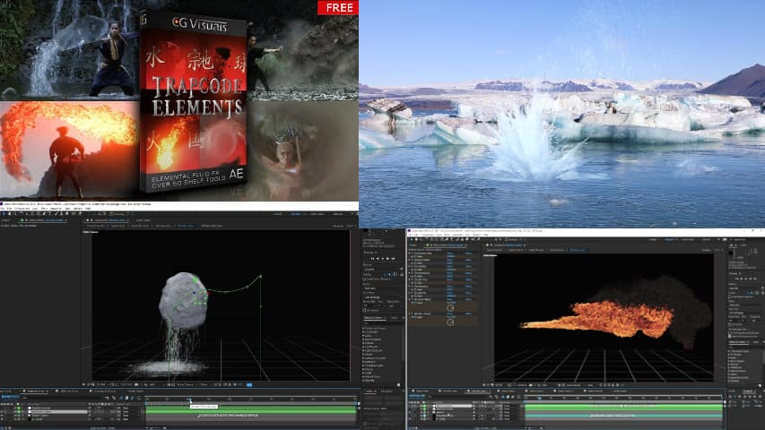 Trapcode Elements V1.2 - After Effects Project