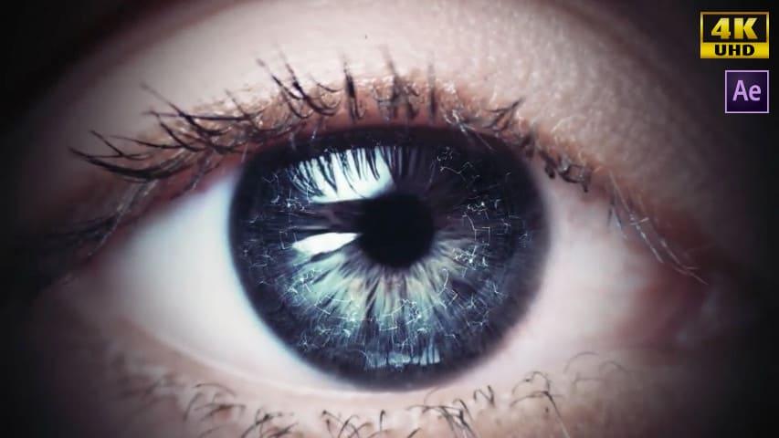 Открывающийся Глаз — Скачать Лого Проект Афтер Эффект