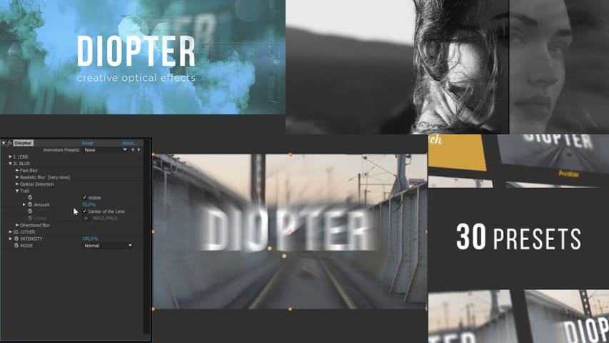 AeScripts Plugin Diopter for After Effects