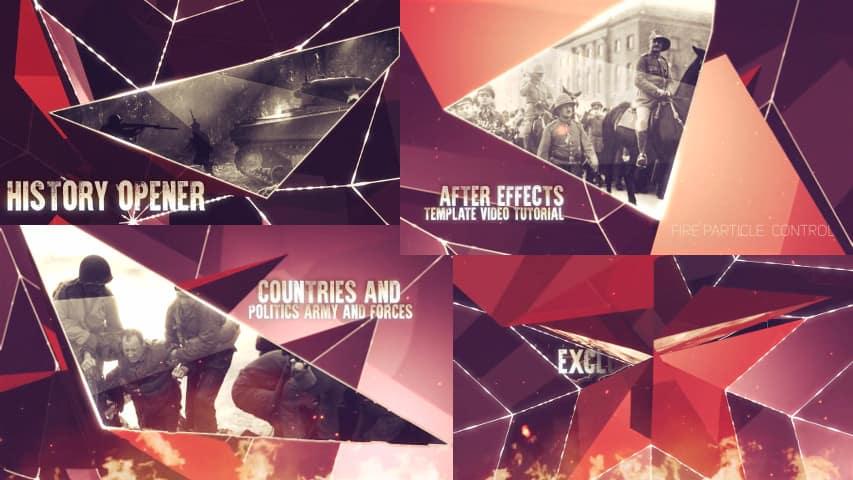 Военное Слайд-шоу для After Effects