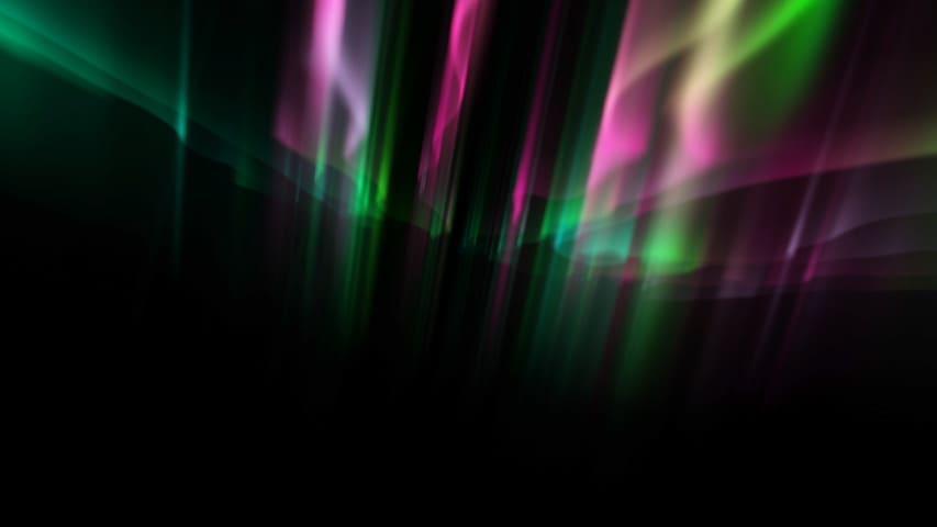 Аврора Фон для Видео — Футаж Цветное Сияние