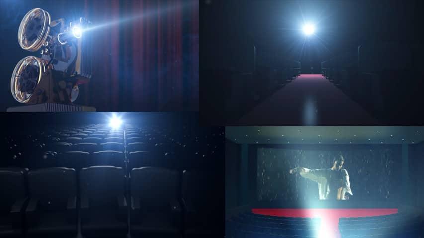 Кинозал Кинотеатра — Проект Opener для After Effects