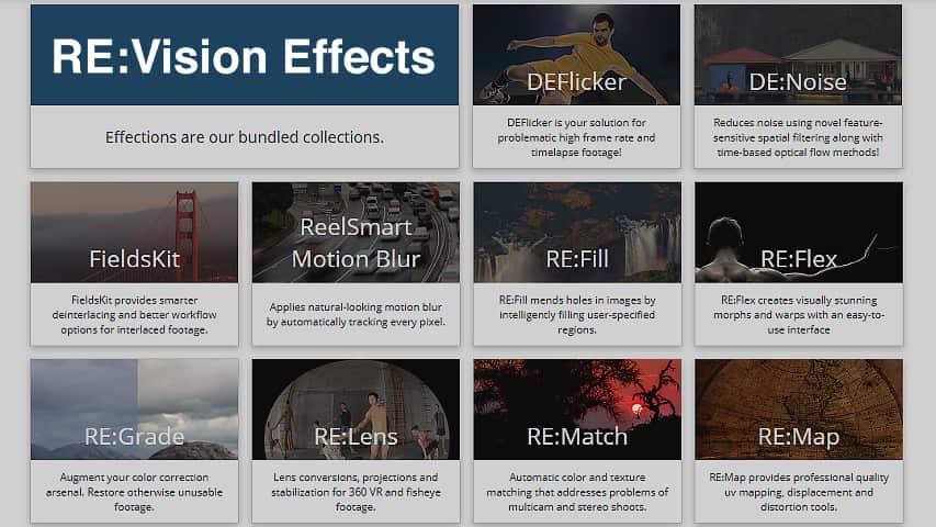Плагины RevisionFX Effections Plus скачать