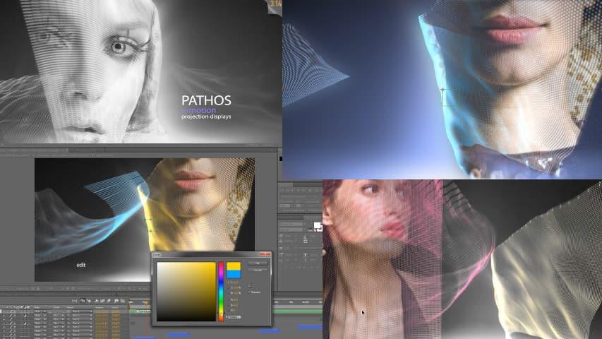 Слайд-шоу After Effects Project — Пафосное Электронное Движение