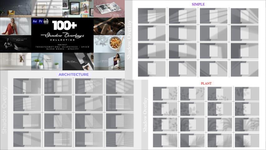 Теневые Эффекты Наложения — Free Overlay After Effects Project