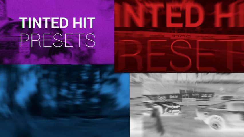 Пресеты Tinted Hit для Premiere Pro скачать