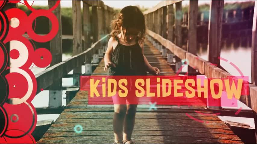 Слайд-шоу Kids для Фото-Видеомонтажа в Adobe After Effects