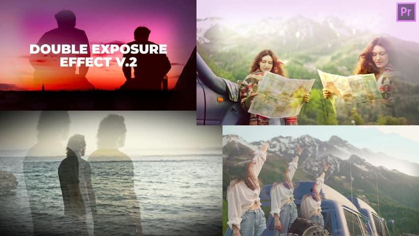 Пресеты Двойной Экспозиции V.2 для Adobe Premiere Pro скачать бесплатно