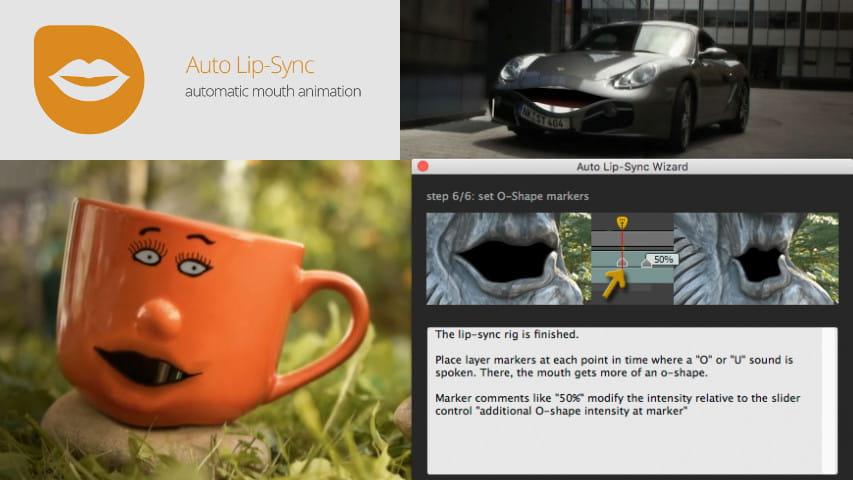 Автоматическая Анимация Губ — АеСкрипт Auto Lip-Sync Полная версия