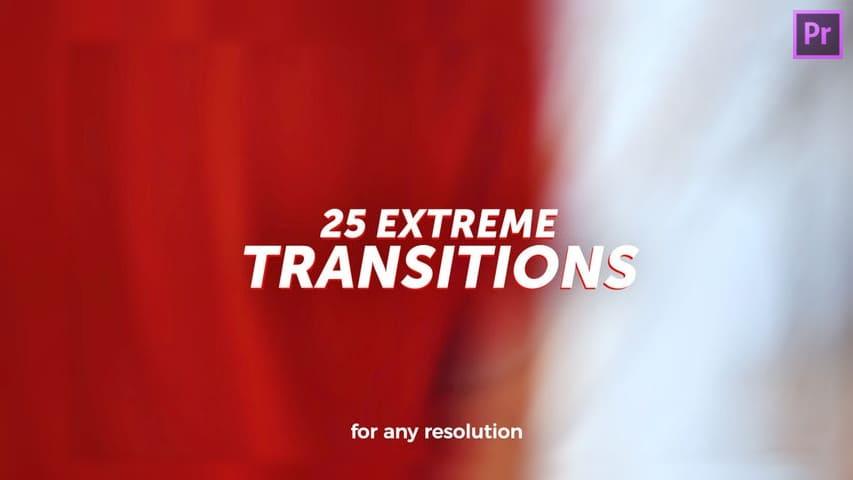 Экстремальные Переходы для Видео — Пресеты Premiere Pro CC + скачать бесплатно