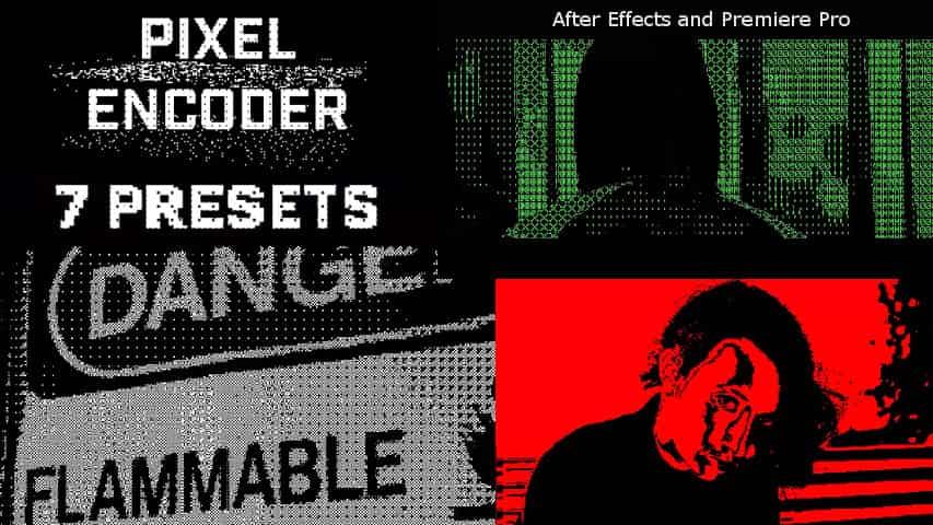 Плагин Pixel Encoder для After Effects и Premiere Pro
